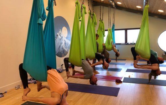Beginners Trapeze & Aerial Yoga Workshop